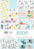 Kreativní papíry KIDS 80g/m2 A4  - 15listů