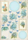Kreativní tvrdý papír A4 250g Vintage Time