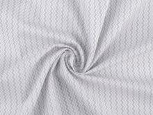 Látka bavlna šedý CHEVRON 50x80cm