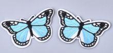 Nažehlovačka motýl 72x44mm