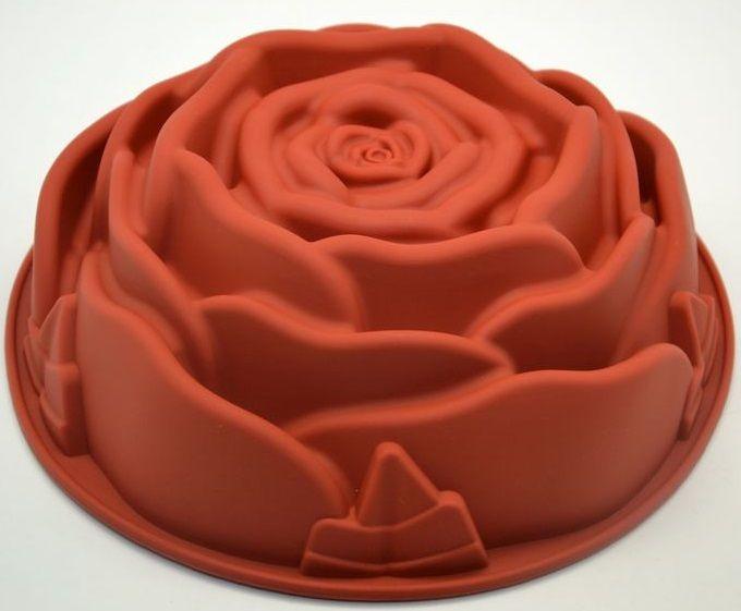 Silikonová forma na dort RŮŽE 24cm
