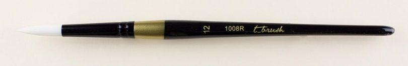 Štětec syntetický t-brush kulatý 1008R č.10 - 1ks - Č.12 Pebeo