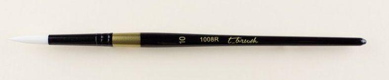 Štětec syntetický t-brush kulatý 1008R č.10 - 1ks Pebeo