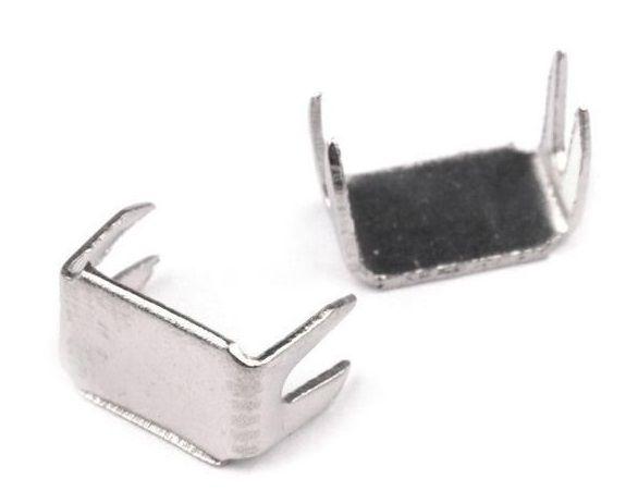 Koncovka na zip 5 mm dolní - 10ks