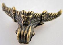Ozdobné kování na krabičky Nožička antik bronz 40x33mm - 1ks