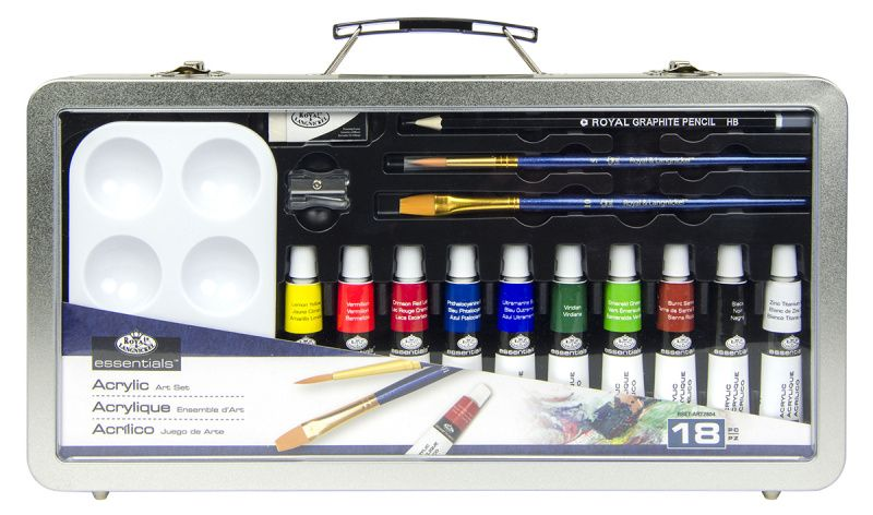 Sada akrylových barev ROYAL and LANGNICKEL 35,5x17,5cm