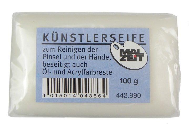 Čisticí mýdlo na štětce pro olej,akryl.. Malzeit 100g
