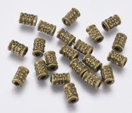 Mezičlánek kov VÁLEČEK 5x7,3mm - 10ks