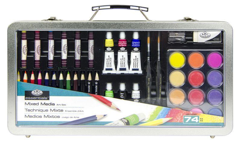 Sada barev mix set ROYAL and LANGNICKEL 35,5x17,5cm