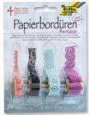 Papírové pásky a krajky