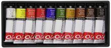Sada olejových barev Graduate 10x38ml daler rowney