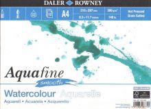Akvarelový blok Aquafine Smooth 300g/m2, 210x297mm - 12 listů
