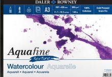 Akvarelový blok Aquafine texture 300g/m2  297 x 420mm - 12 listů