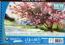 Akvarelový blok Aquafine Smooth 300g/m2, 148x210mm  12listů