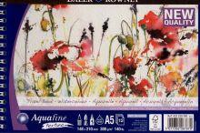 Akvarelový blok Aquafine texture 300g/m2, 148x210mm  12listů