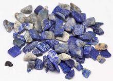 Minerální kamínky přírodní Lapis  Lazuli cca 3 až 9mm - 25g