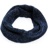 Pletený nákrčník zeleno-modrý 30x60cm Wool&Co