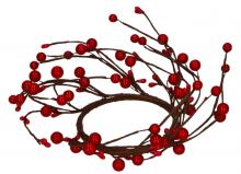 Věnec z větviček s bobulemi