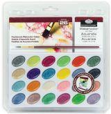 Sada akvarel. perleťových barev ROYAL LANGNICKEL - 24ks