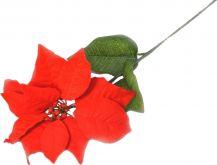 Dekorace Vánoční růže 70cm - 1ks