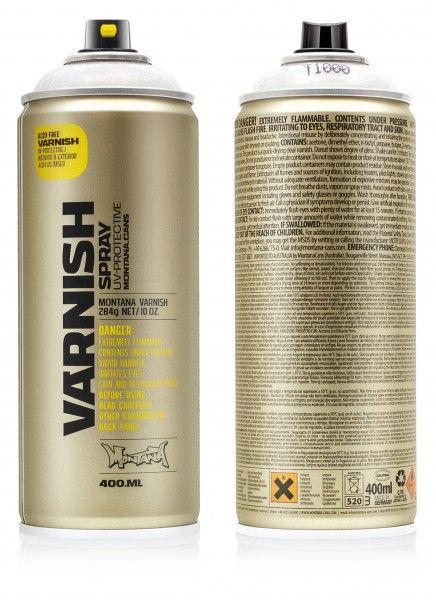 Lak matný na akrylové barvy Montana s UV 400ml - 1ks Montana Cans