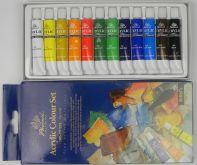 Sada akrylových barev STUDIO Phoenix 12x12ml