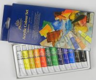Sada akrylových barev Phoenix 12x12ml