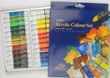 Sada akrylových barev Phoenix 24x12ml