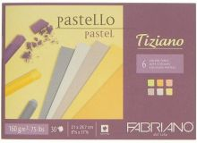 Blok na pastel Tiziano soft colour 160g/m2  A3 - 30ks