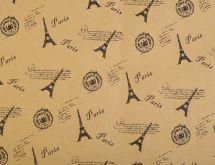 Dárkový balící papír PAŘÍŽ 50x75cm