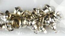 Dekorace Zvonečky ZLATÉ mix 8,10,12 mm - 30ks