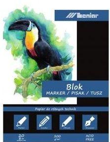 Kreslící blok LENIAR 200g/m3 A4 20listů