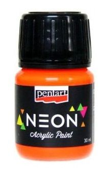 Neonové akrylové barvy PENTART 30ml