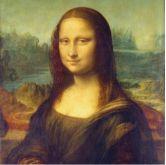 Ubrousky 33x33cm Mona Lisa (La Gioconda)