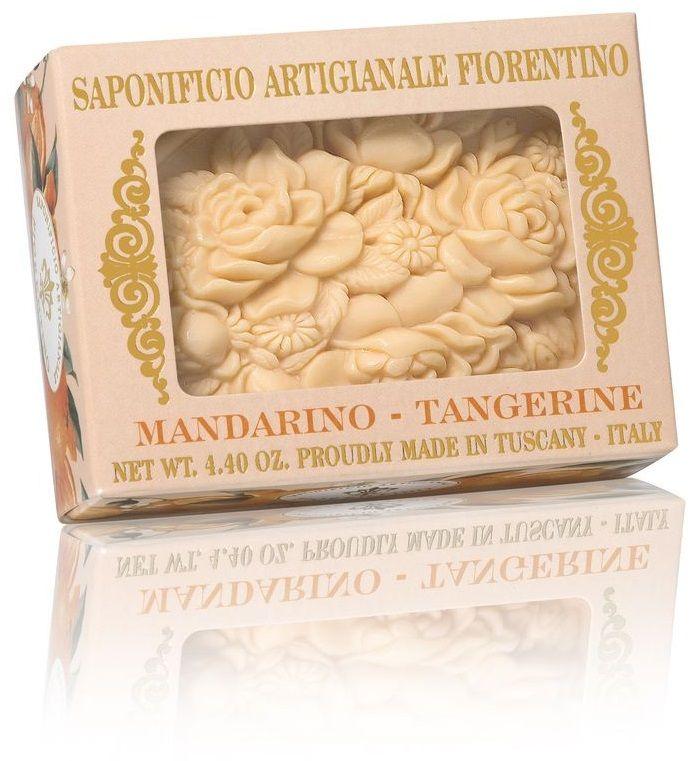 Luxusní mýdlo BOTICELLI mandarinka 125g - 1ks