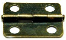 Pant  na krabičky OBDELNÍK antik mosaz 25x18mm - 1ks