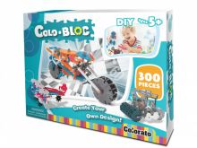 Stavebnice ColoBloc pro kluky - 300ks