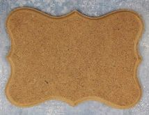 MDF frézovaná ozdobná plaketka 15x10,5cm