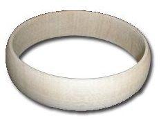 Dřevěný náramek - úzký 10mm