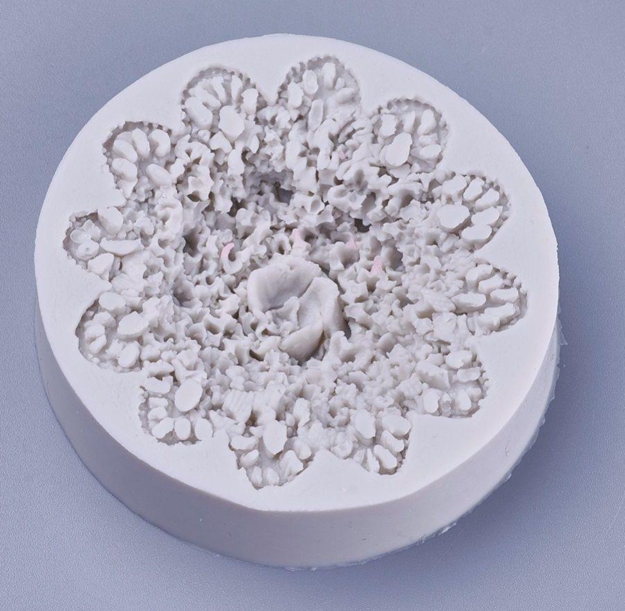 Forma silikonová KVĚT 66x15mm