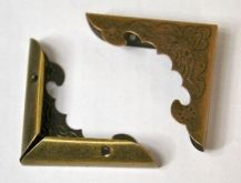 Ochranný roh zdobený ANTIK 44x44mm - 1ks