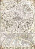 Rýžový papír MAPA LONDÝNA 30x21cm /A4