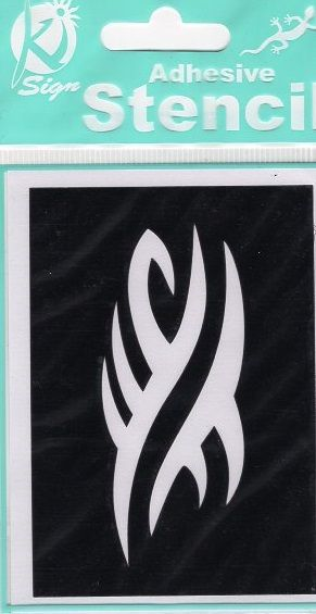 Samolepicí flexibilní šablona 10 x 7cm