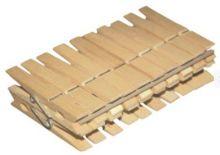 Kolíčky dřevěné na prádlo - 20ks