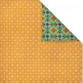 Kreativní oboustr.papír VZOR 190g/m2 - 30,5x30,5cm