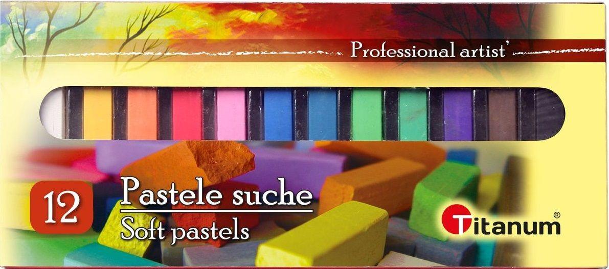 Suché umělecké pastely SOFT - 12ks