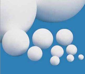 Polystyrenová koule bílá cca 6,5 cm 1ks