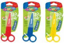 Colorino dětské nůžky 12,5cm plastové 1ks