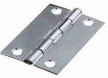 Pant ocel barva platina čtverec 30x30x1mm - 1ks