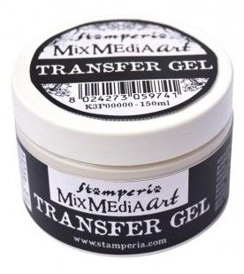 Arte Transfer gel Papír STAMPERIA 150ml k přenesení obrázku